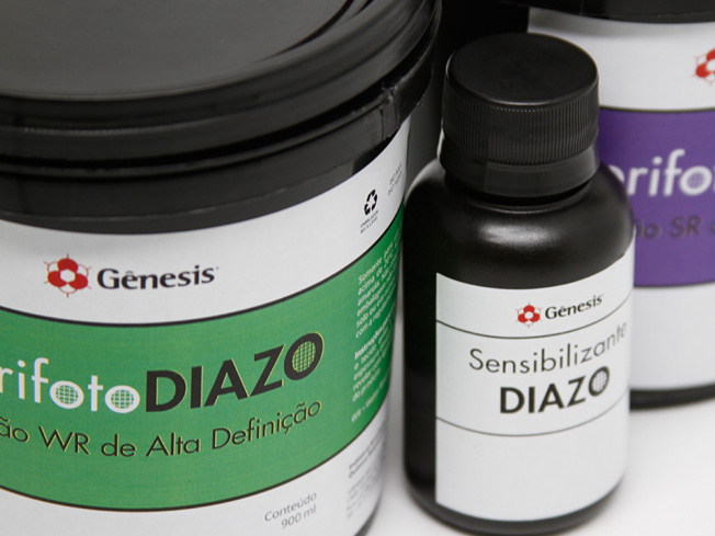 Emulsão Serifoto Diazo - Emulsões para Matrizes Serigráficas